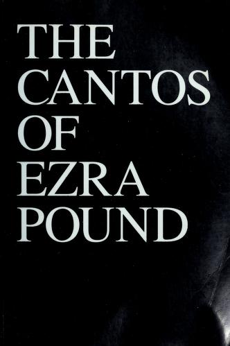 Cover of: The Cantos of Ezra Pound by