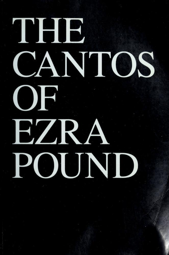The Cantos of Ezra Pound by